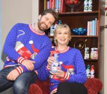 Matthew Morrison e Jane Lynch riuniti per una pubblicità di Natale