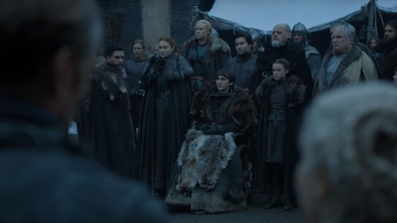 I signori del Nord riuniti per accogliere Daenerys