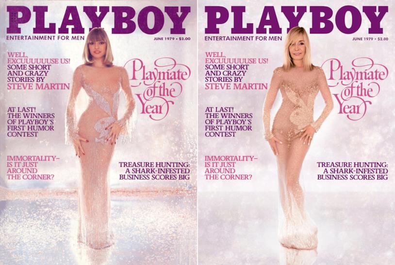 Monique St. Pierre in posa per playboy