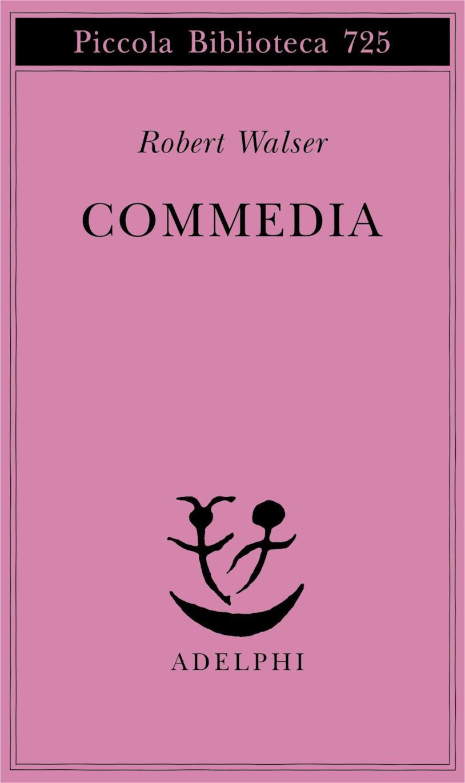 La copertina di Commedia