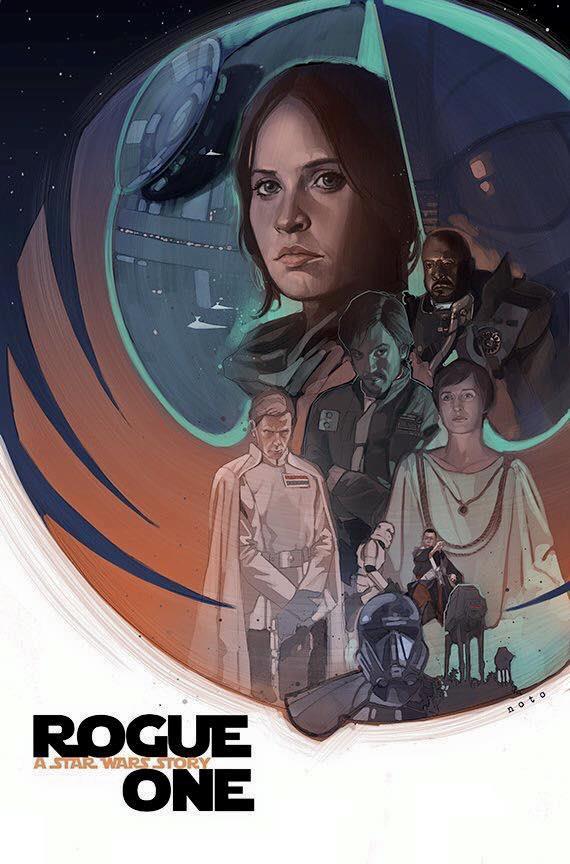 Poster di Phil Noto di Rogue One