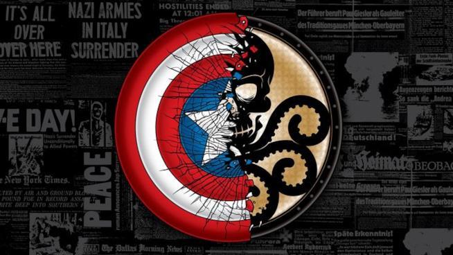 Captain America dichiara di essere contro i filonazisti dell'Hydra