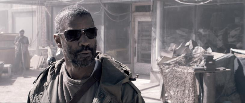 Denzel Washington in Codice Genesi
