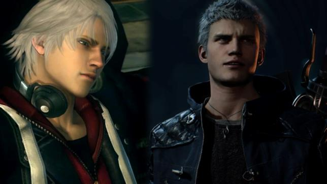 Nero in Devil May Cry 4 e Devil May Cry 5