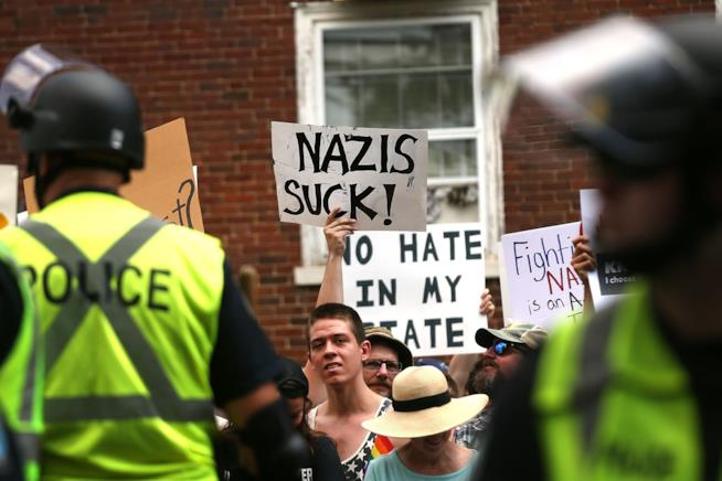 Le proteste di Charlottesville (Virginia)