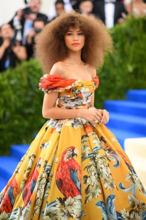 Zendaya in Dolce & Gabbana al MET Gala 2017
