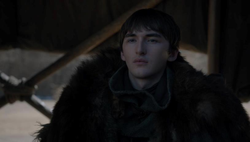Isaac Hempstead-Wright in Game of Thrones 8x06