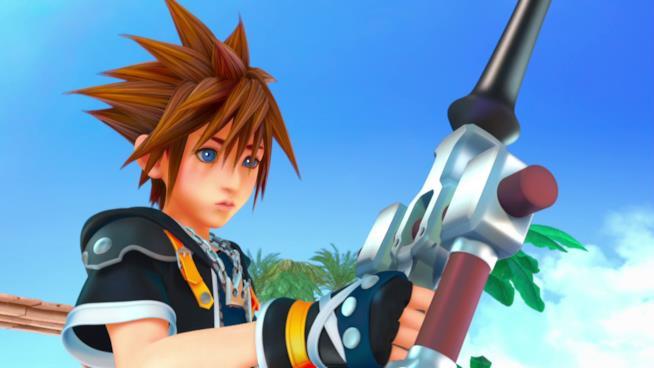 Sora in Kingdom Hearts 3
