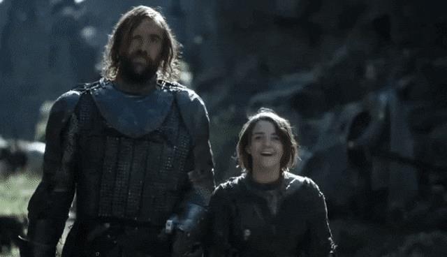 Arya e il Mastino il video di un finto spin-off di Game of Thrones