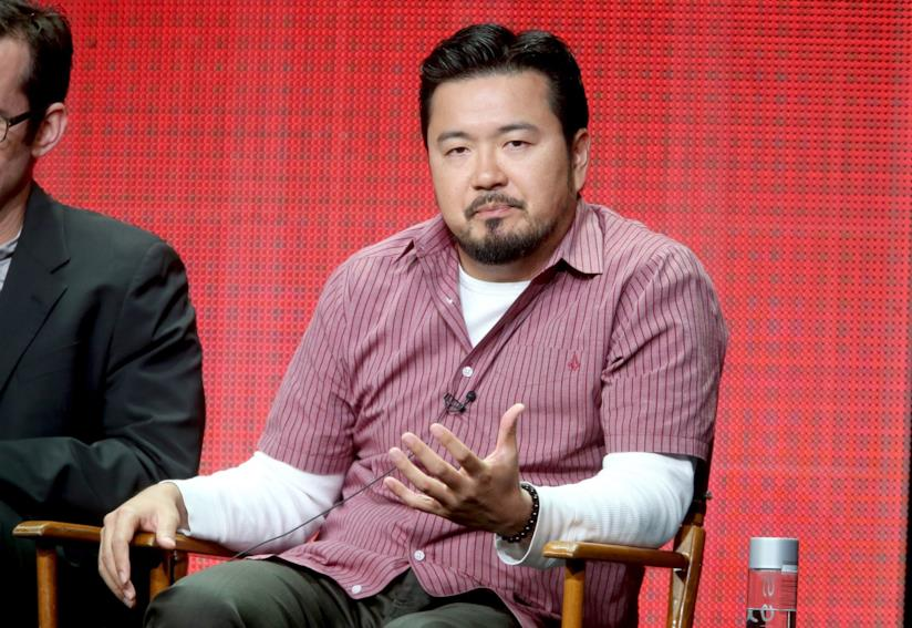 Justin Lin durante una conferenza stampa
