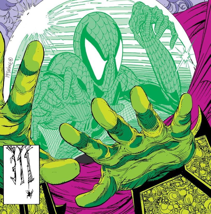 Dettaglio della cover di Amazing Spider-Man #311