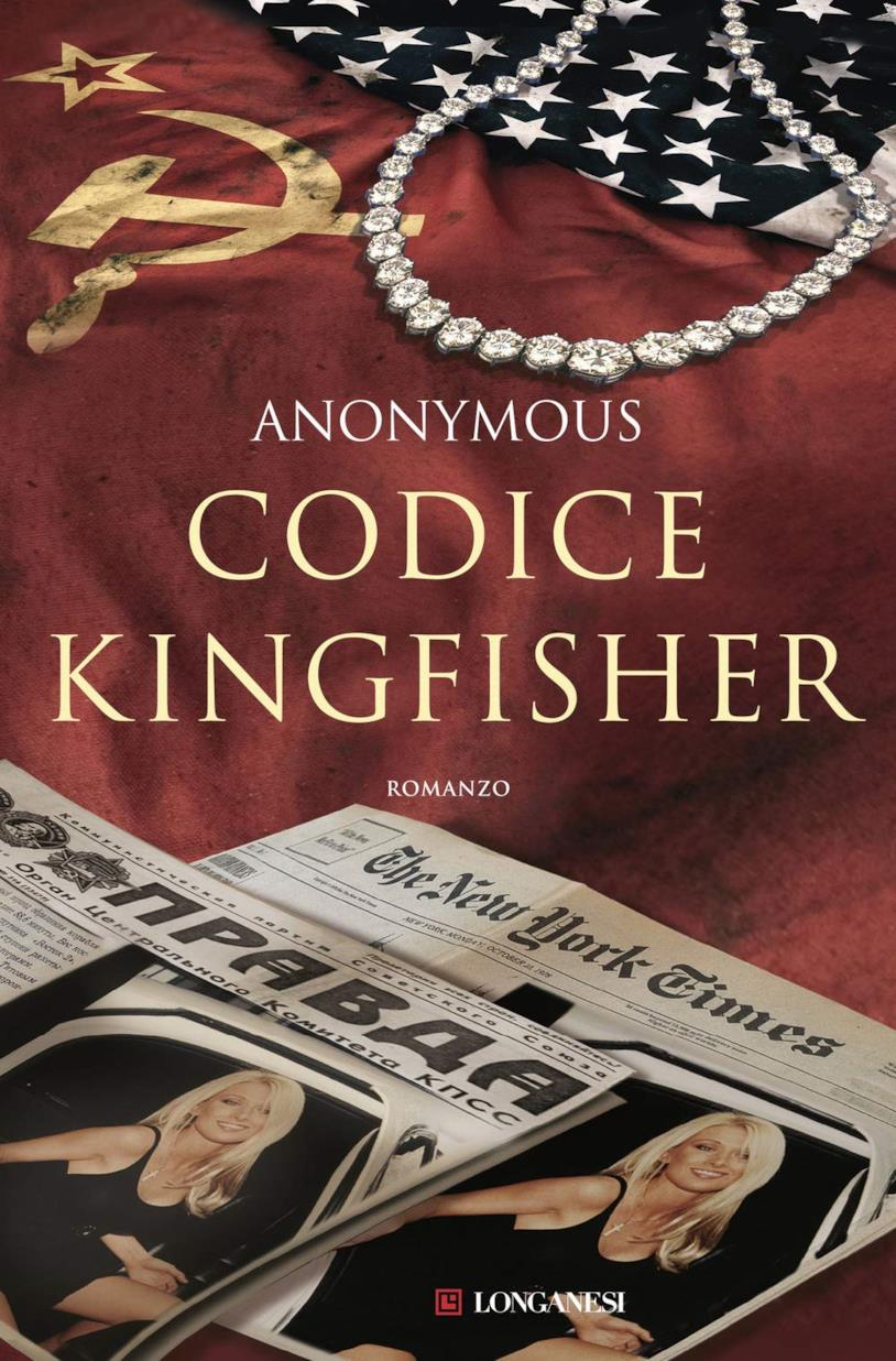 La copertina italiana di Codice Kingfisher
