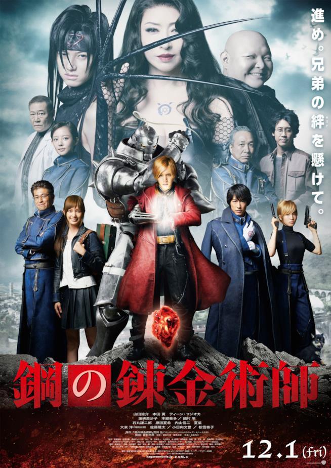 Il cast del live-action di Fullmetal Alchemist e la pietra filosofale del film