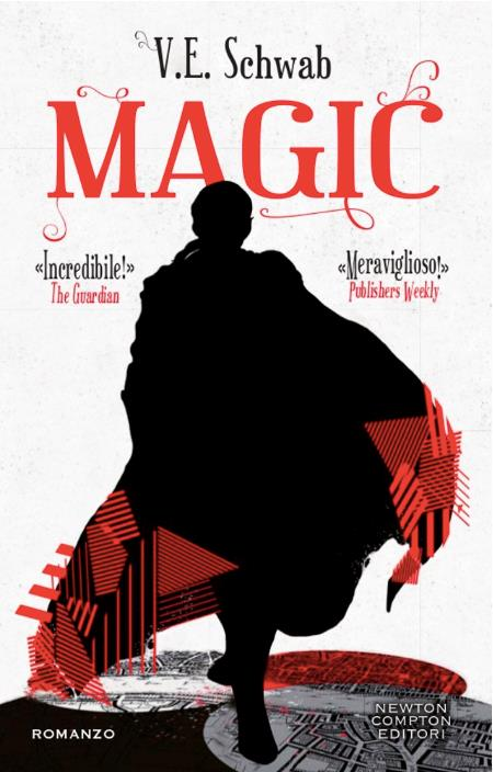 La copertina italiana di Magic