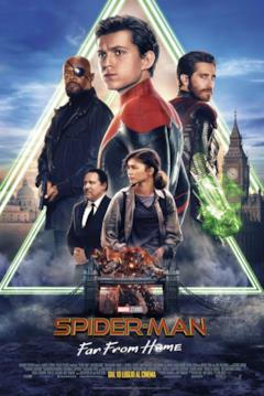 Locandina finale italiana di Spider-Man: Far From Home