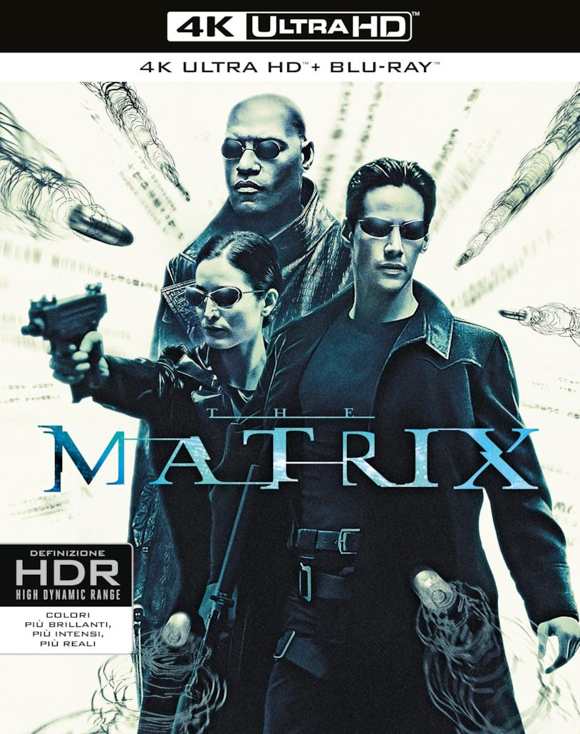 Packshot di Matrix in 4K
