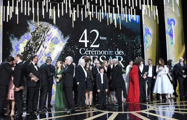 In vincitori sul palco dei César Awards 2017