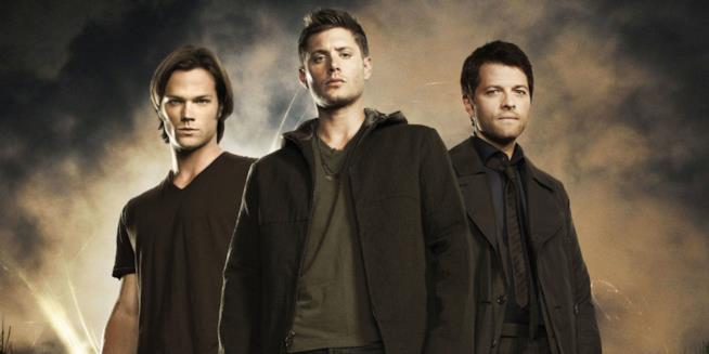 Jared Padelecki e Jensen Ackles, protagonisti di Supernatural