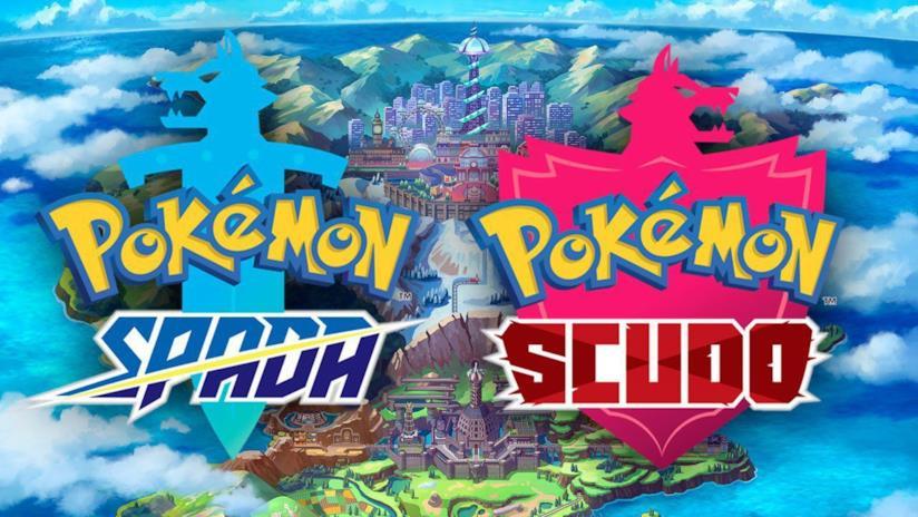 Pokémon Spada e Scudo logo