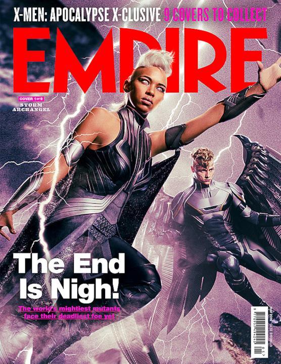 Tempesta e Arcangelo sulla copertina di Empire Magazine