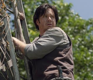 Eugene in The Walking Dead 9