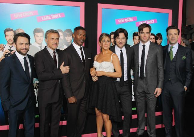 Charlie Day, Christoph Waltz, Jamie Foxx, Jennifer Aniston, Jason Bateman, Chris Pine e Jason Sudeikis