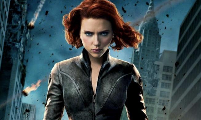 La Vedova Nera nel primo film dedicato agli Avengers