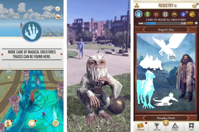 Alcune immagini di gameplay da Harry Potter: Wizards Unite