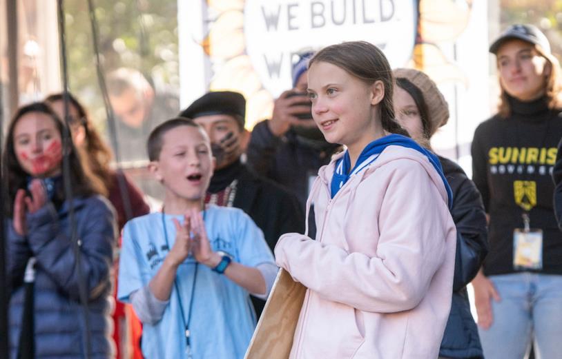 Greta Thunberg, attivista svedese