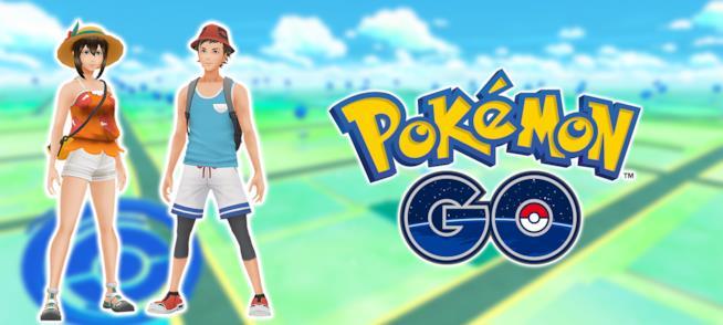 I nuovi costumi di Pokémon Ultrasole e Ultraluna per Pokémon GO