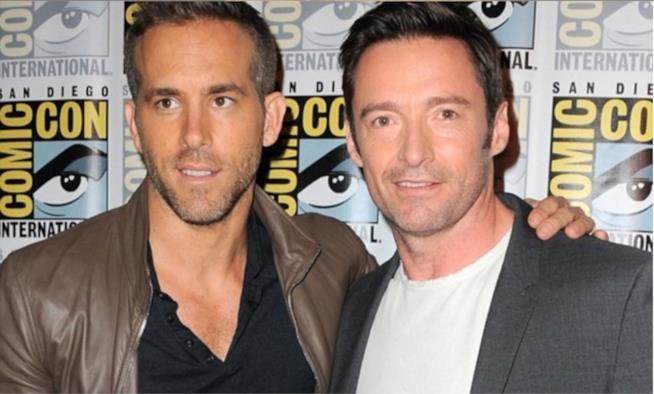 In foto Ryan Reynolds e Hugh Jackman