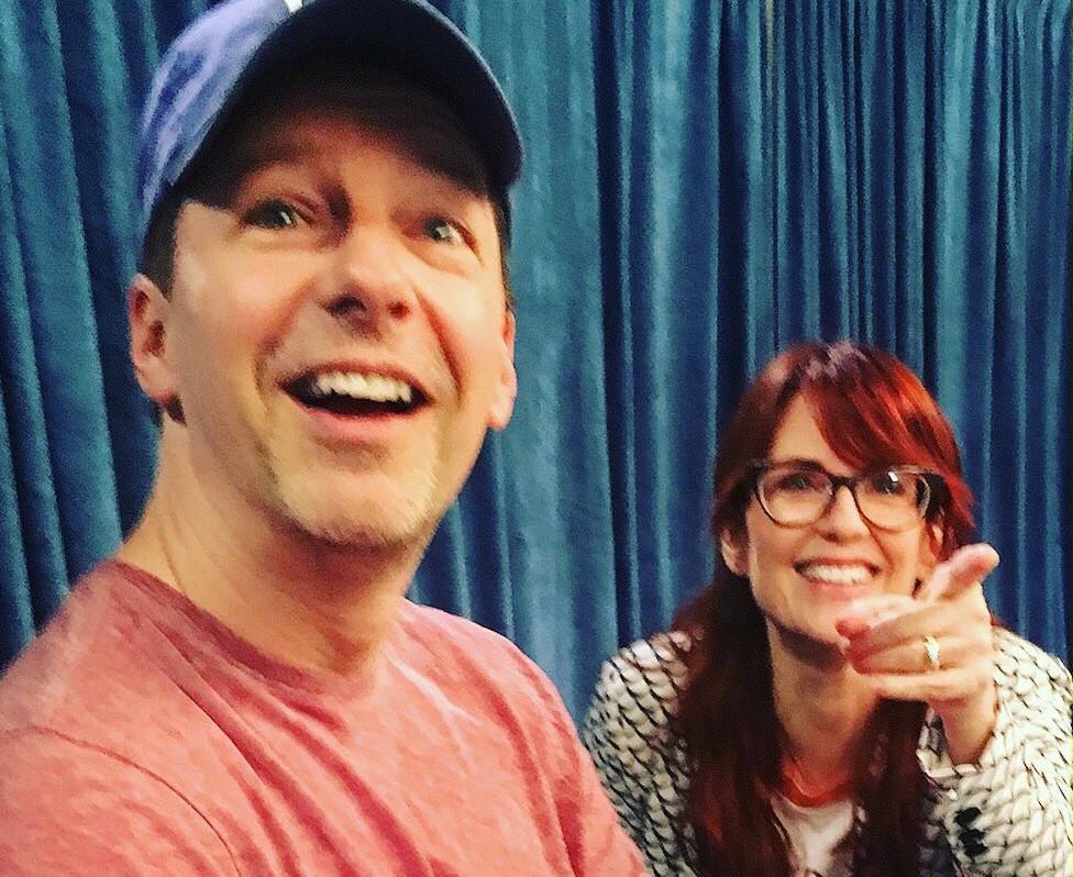 Karen e Jack ancora complici sul set di Will & Grace