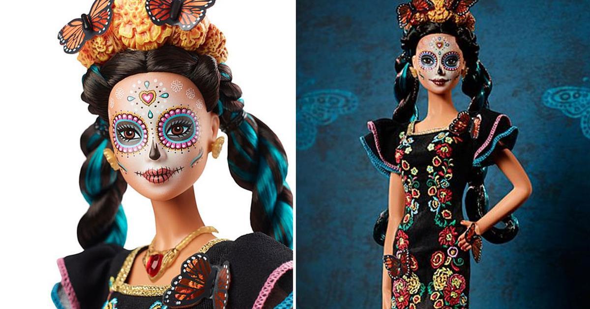 La nuova Barbie a tema Día de los Muertos