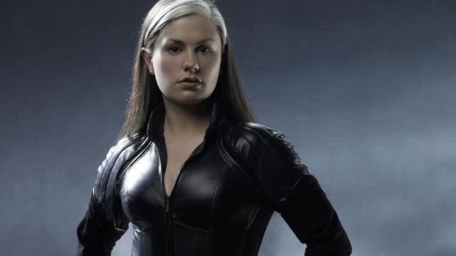 La mutante Rogue interpretata da Anna Paquin