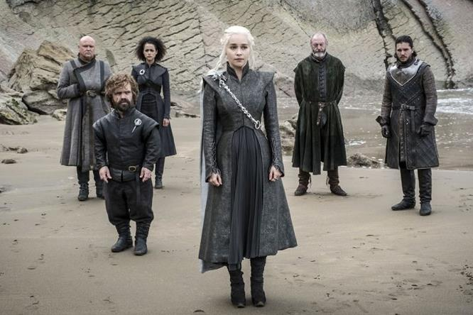 Daenerys e i suoi alleati in GoT 7x04