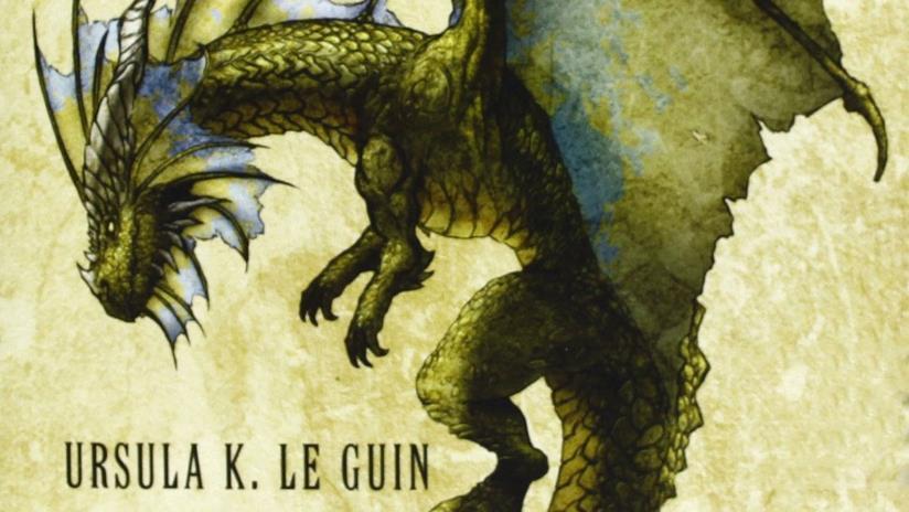 L'enorme drago simbolo del film animato I racconti di Terramare di Goro Miyazaki