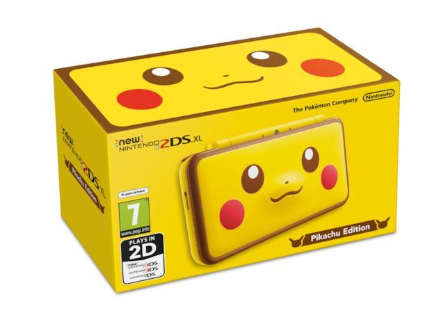 Una versione speciale per il New Nintendo 2DS XL dedicata a Pikachu