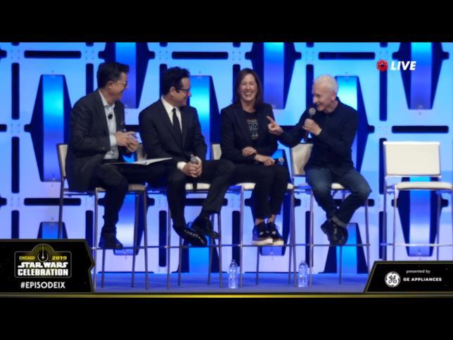 Immagine tratta dal panel di Episodio IX