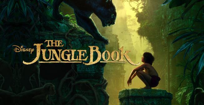 """Mogly e Bagheera nel primo poster de """"Il Libro della Giungla"""", ispirato al classico Disney"""