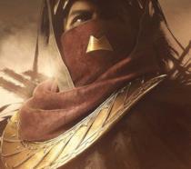 Un primo piano di Osiride in Destiny 2