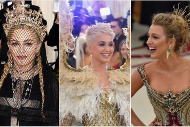 Collage di look al MET Gala 2018