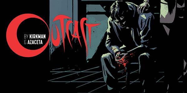Logo Outcast del fumetto