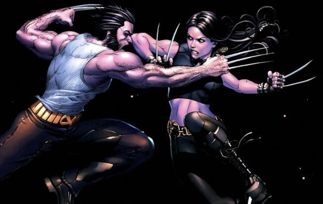 Wolverine combatte contro X-23