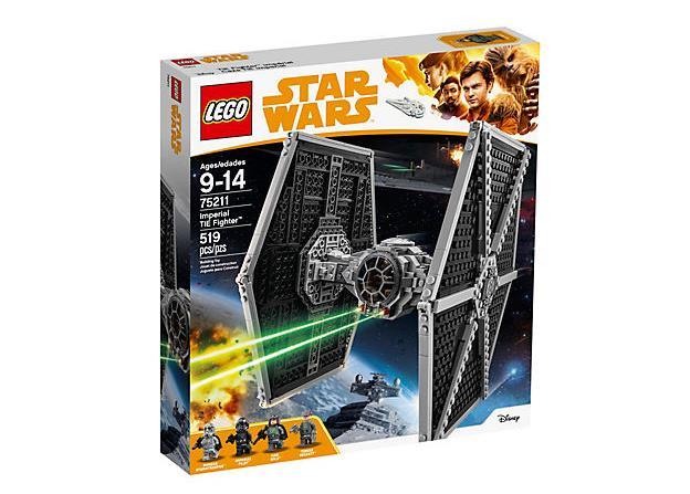 Dettagli sulla confezione del set di LEGO Imperial TIE Fighter