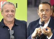 Claudio Amendola e Kevin Spacey