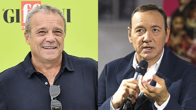 Claudio Amendola e Kevin Spacey