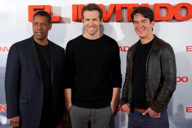 Denzel Washington, Ryan Reynolds e Daniel Espinosa