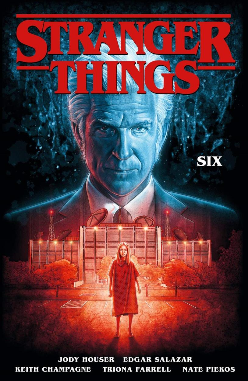 Copertina del fumetto Stranger Things: SIX