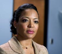 Un'immagine dell'attrice Lauren Luna Vélez nei panni di Maria LaGuerta in Dexter