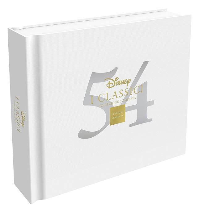 cofanetto 54 classici Disney